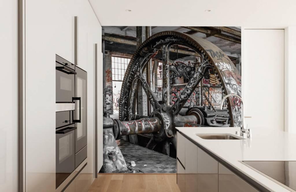Architectuur - Verlaten fabriek - Tienerkamer 4
