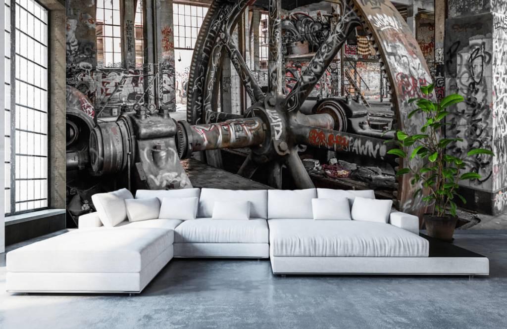 Architectuur - Verlaten fabriek - Tienerkamer 6