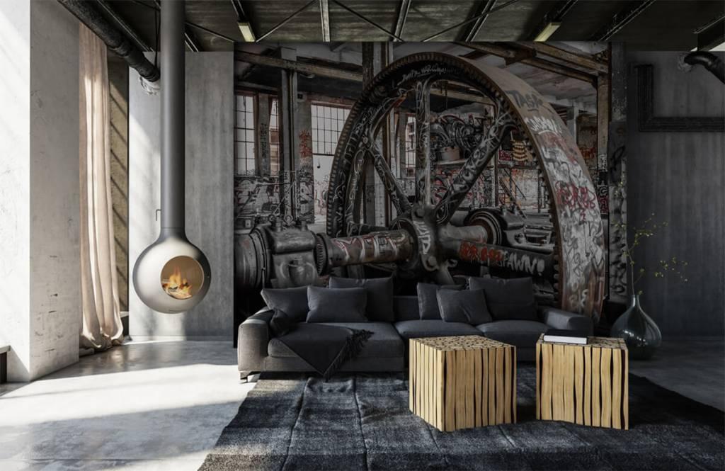 Architectuur - Verlaten fabriek - Tienerkamer 7