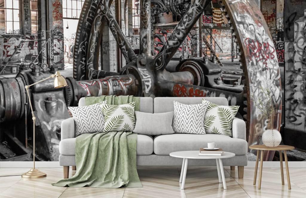 Architectuur - Verlaten fabriek - Tienerkamer 8