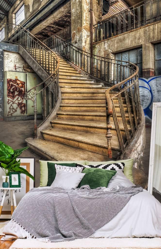 Gebouwen - Vervallen trap - Woonkamer 7