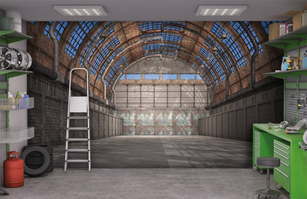 Gebouwen - Vintage fabriekshal - Garage 1