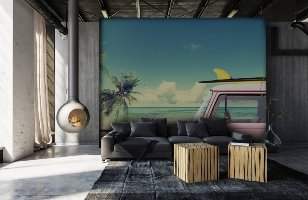 Transport - Volkswagen surf bus - Slaapkamer 7