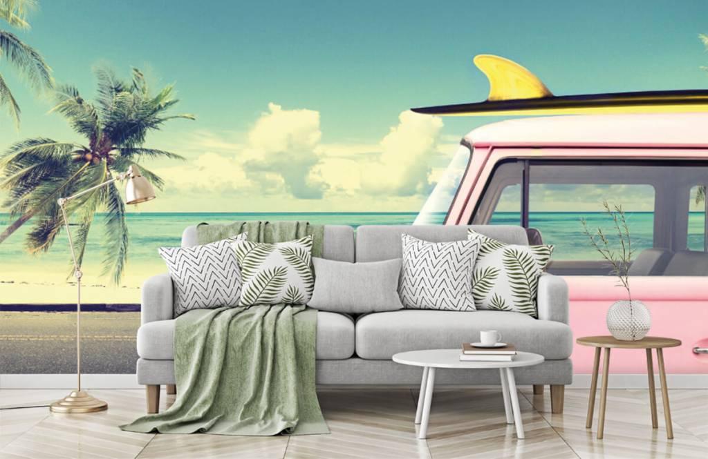 Transport - Volkswagen surf bus - Slaapkamer 8