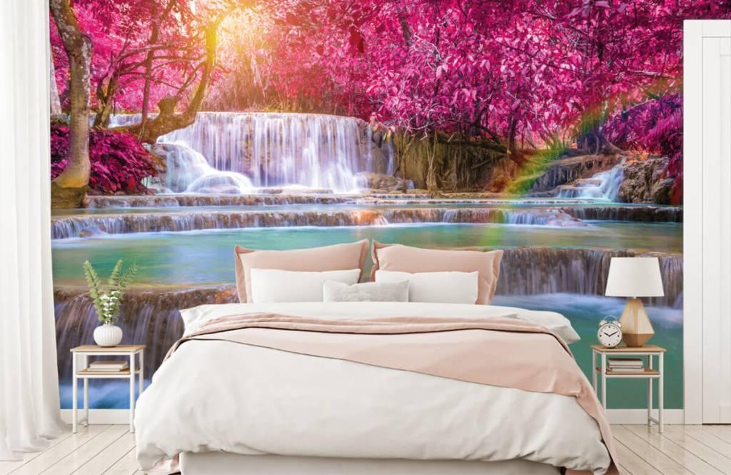 Watervallen - Watervallen in de jungle - Tienerkamer 1