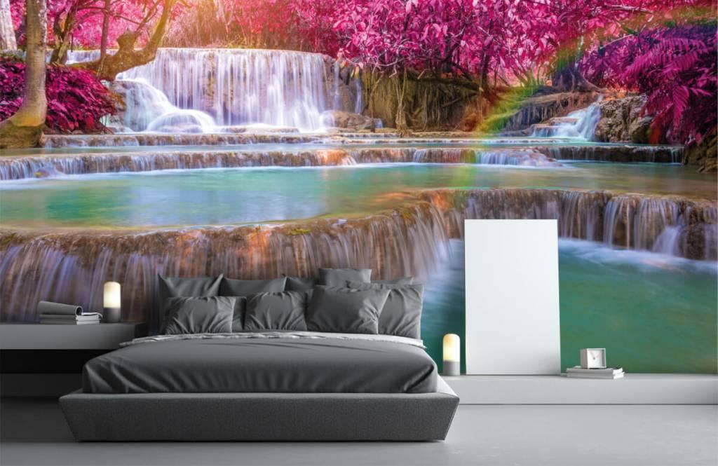 Watervallen - Watervallen in de jungle - Tienerkamer 2