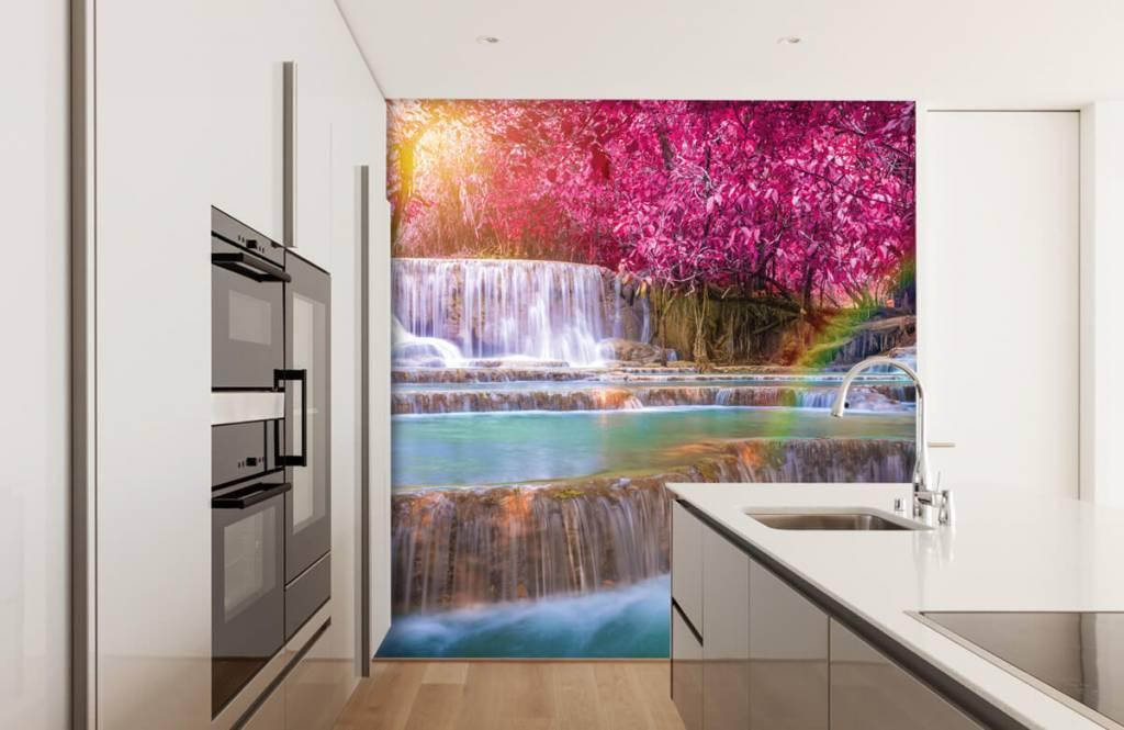 Watervallen - Watervallen in de jungle - Tienerkamer 3