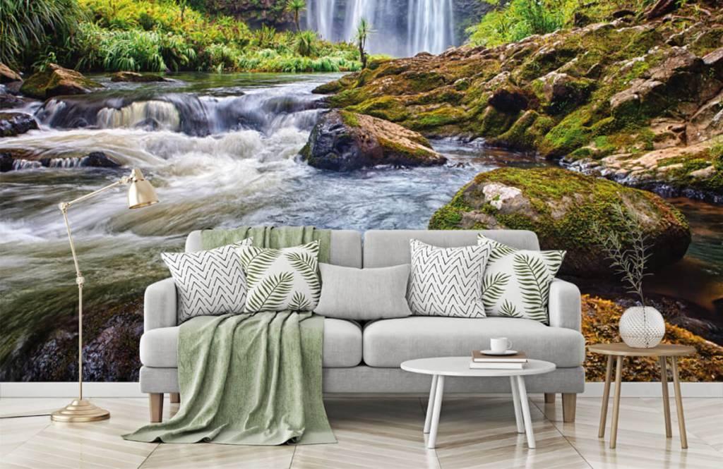 Watervallen - Waterval met stenen - Directie 4