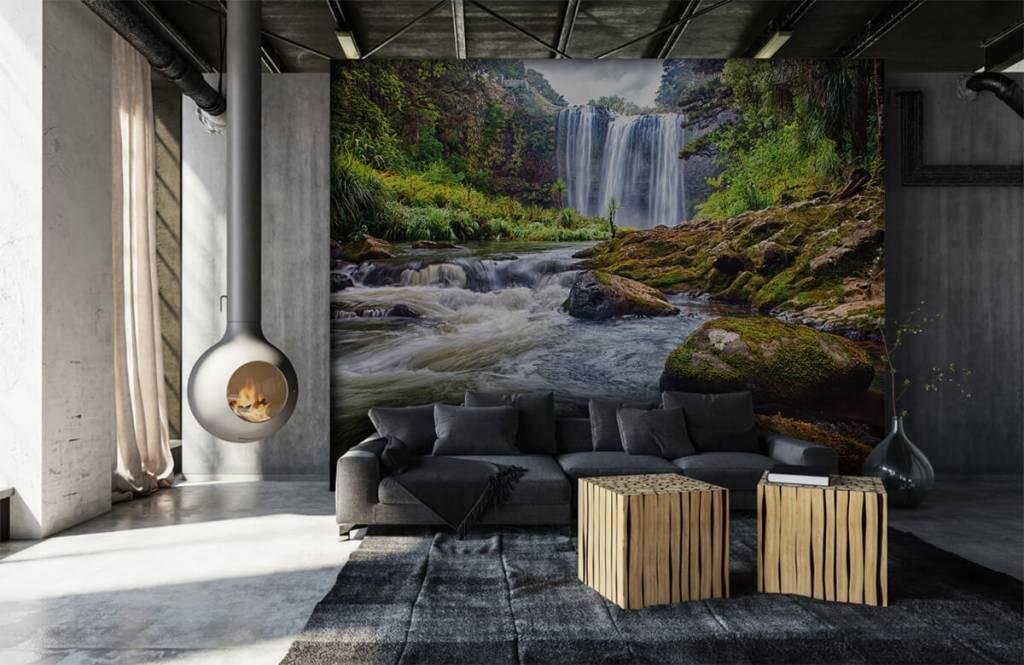 Watervallen - Waterval met stenen - Directie 5
