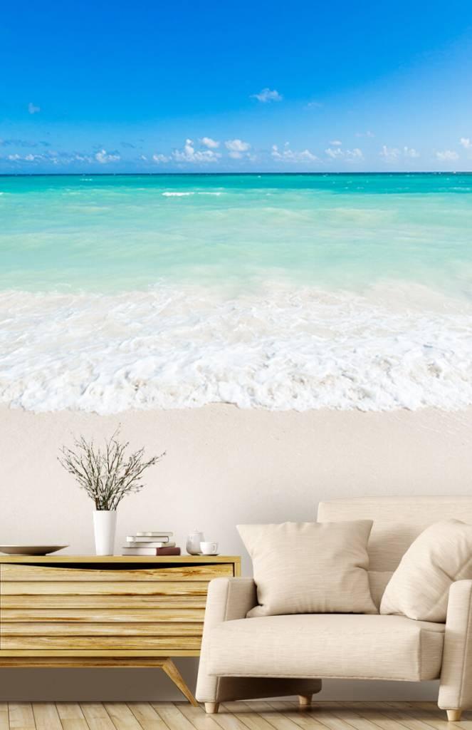 Stranden - Witte strand en golven - Slaapkamer 1