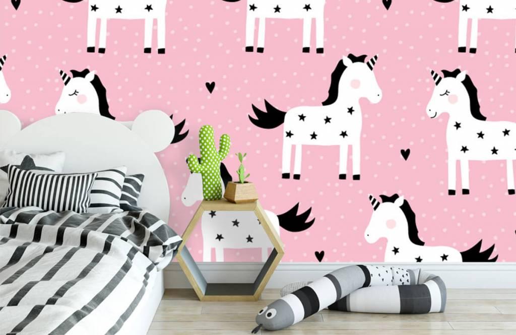 Paarden - Eenhoorn patroon - Kinderkamer 2