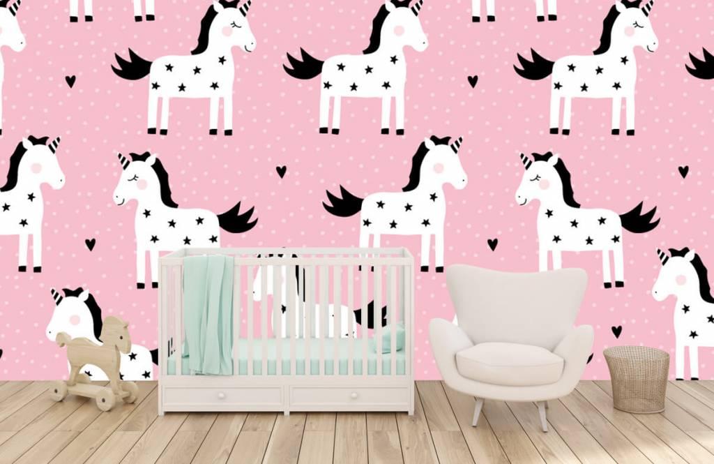Paarden - Eenhoorn patroon - Kinderkamer 5