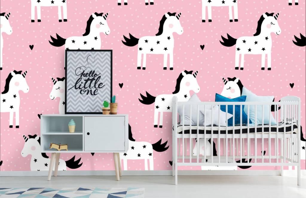 Paarden - Eenhoorn patroon - Kinderkamer 6