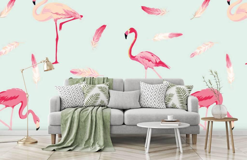 Overige - Flamingo's - Kinderkamer 1
