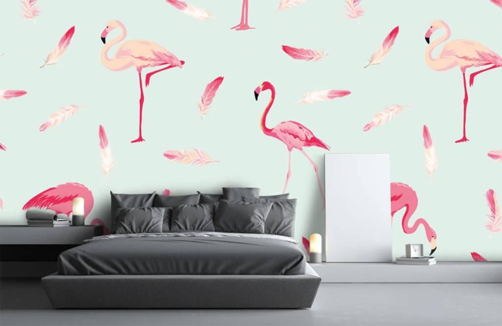 Overige - Flamingo's - Kinderkamer 3