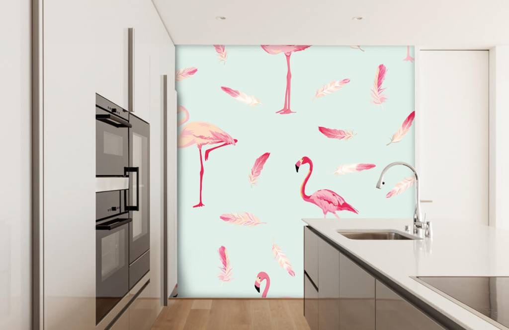 Overige - Flamingo's - Kinderkamer 4