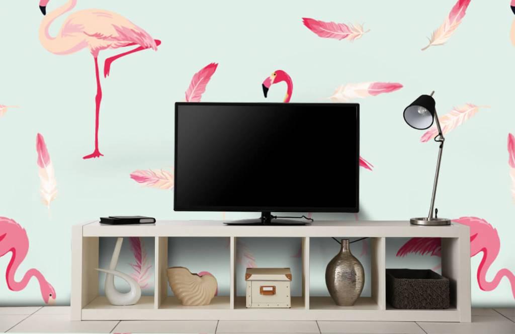 Overige - Flamingo's - Kinderkamer 5
