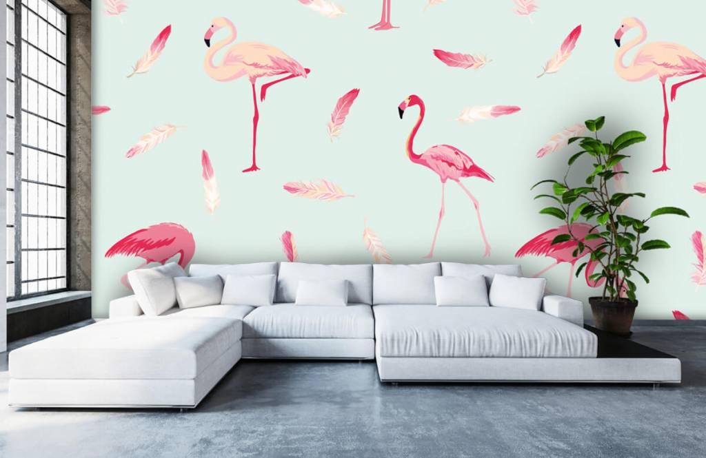 Overige - Flamingo's - Kinderkamer 6