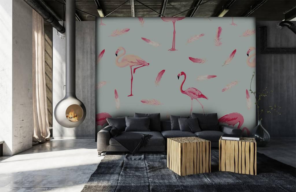 Overige - Flamingo's - Kinderkamer 7