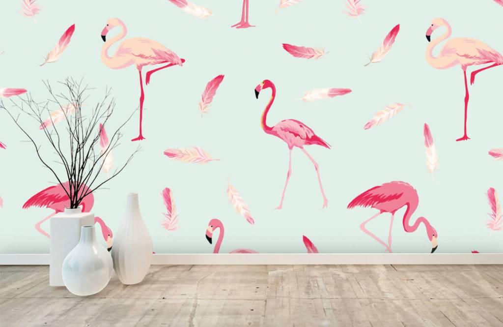 Overige - Flamingo's - Kinderkamer 8