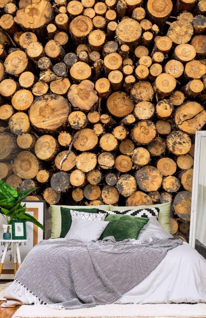 Bomen - Gestapeld hout - Woonkamer 7