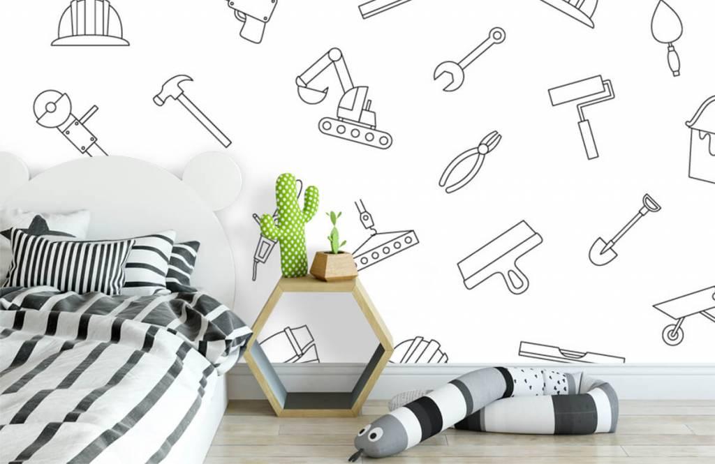 Overige - Getekend gereedschap - Kinderkamer 3