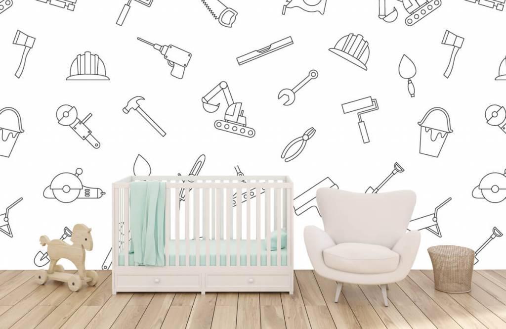 Overige - Getekend gereedschap - Kinderkamer 6