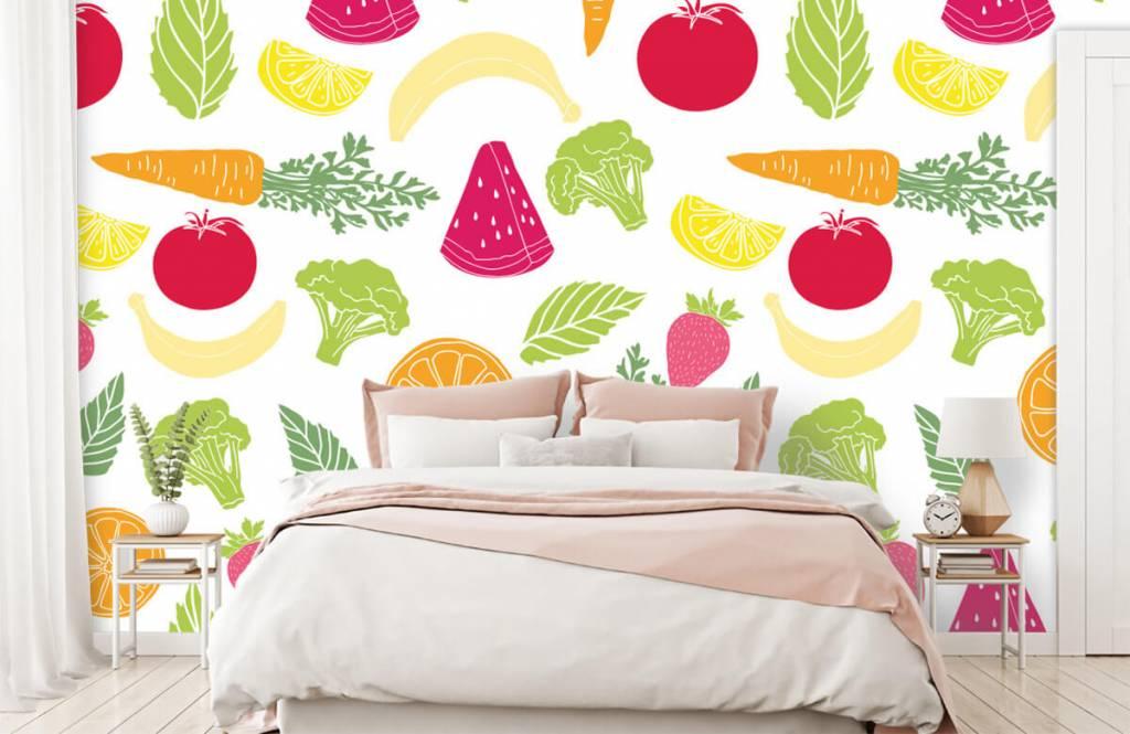 Overige - Getekend groente en fruit - Keuken 2