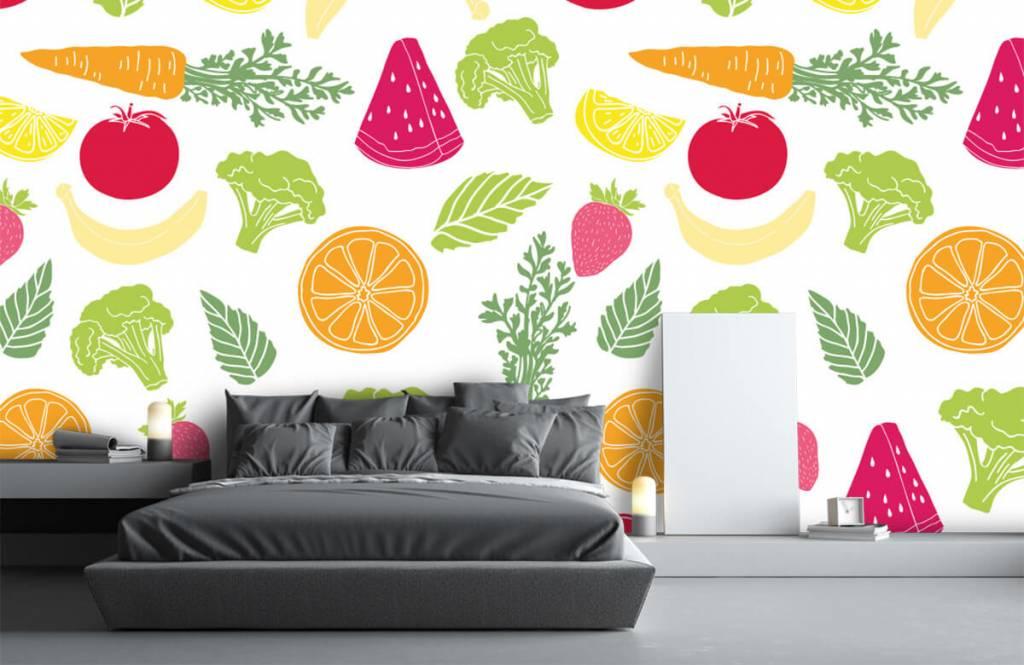 Overige - Getekend groente en fruit - Keuken 3