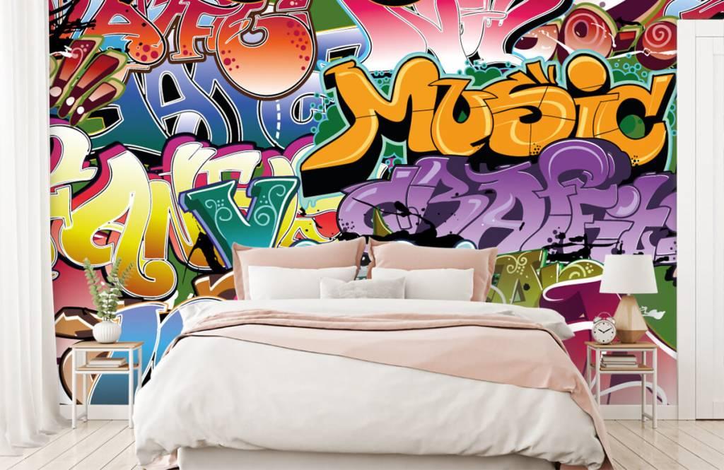 Graffiti - Getekende graffiti - Tienerkamer 2