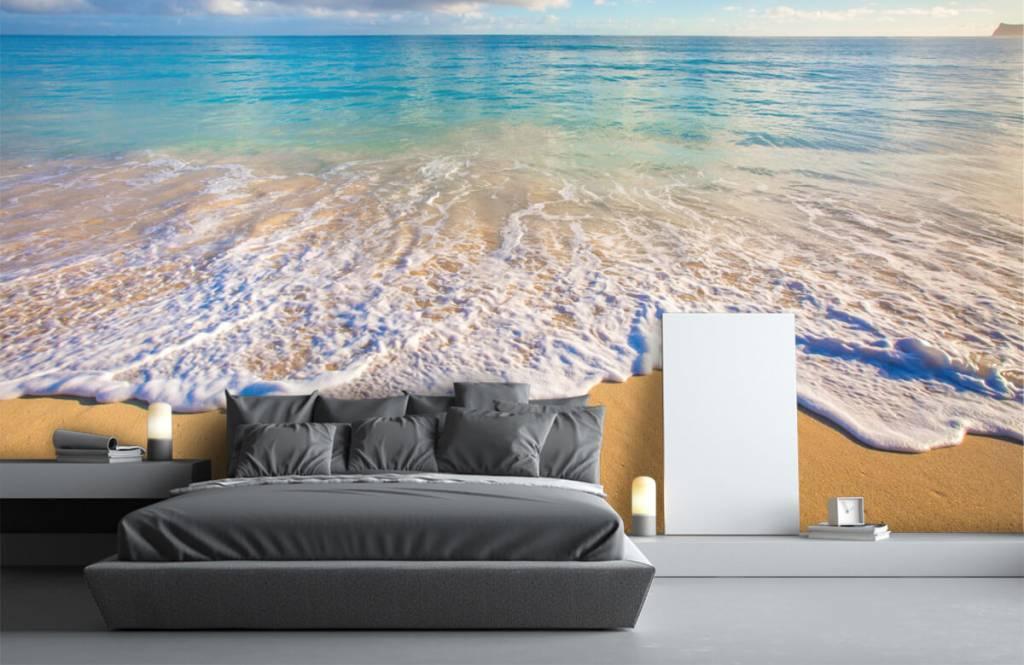 Zeeën en Oceanen - Golvend water - Slaapkamer 2