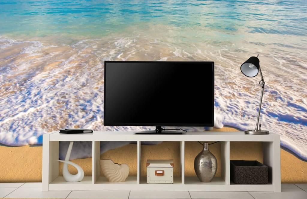 Zeeën en Oceanen - Golvend water - Slaapkamer 4