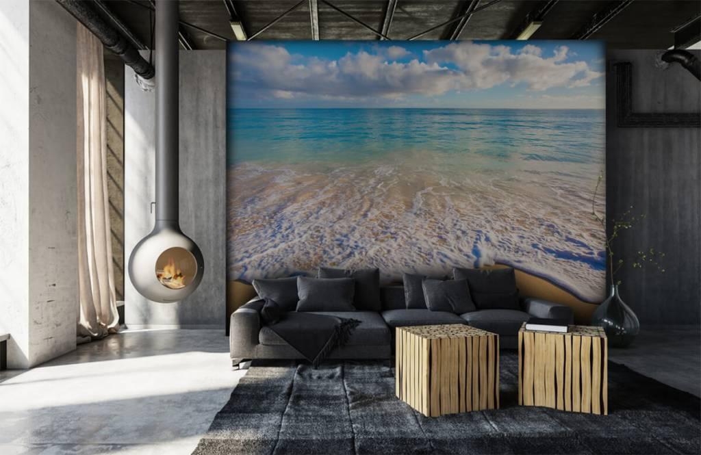 Zeeën en Oceanen - Golvend water - Slaapkamer 6