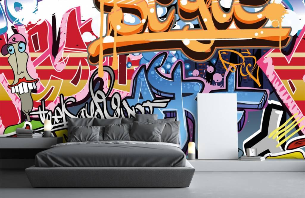 Graffiti - Graffititekst - Tienerkamer 1