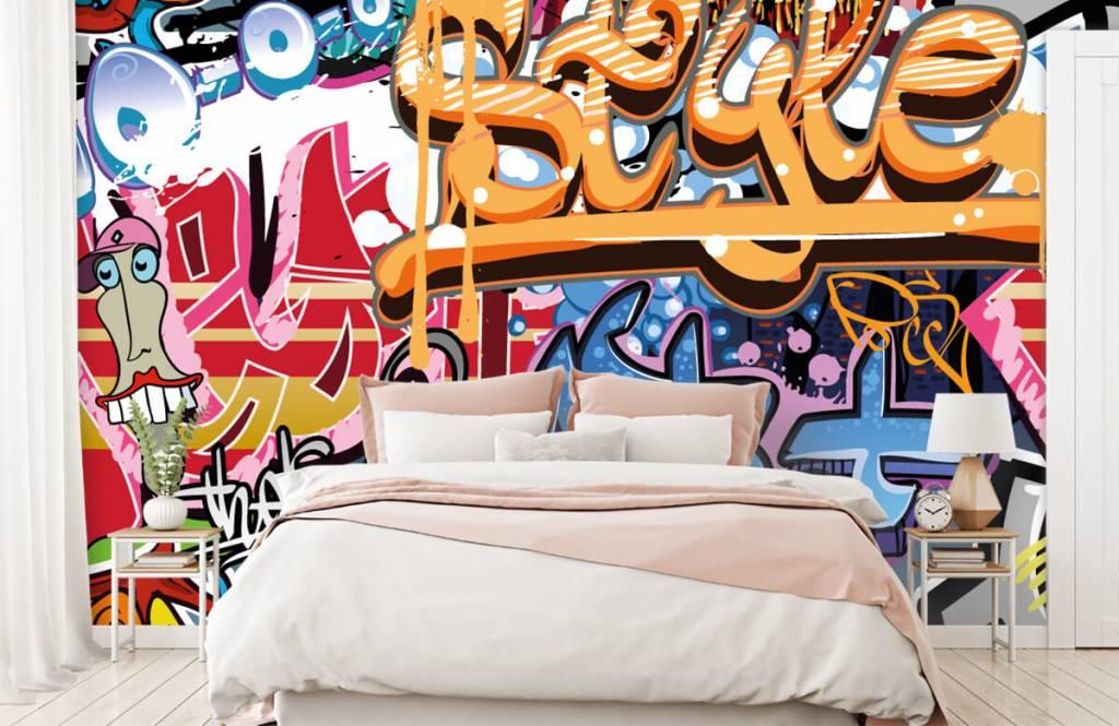 Graffiti - Graffititekst - Tienerkamer 2