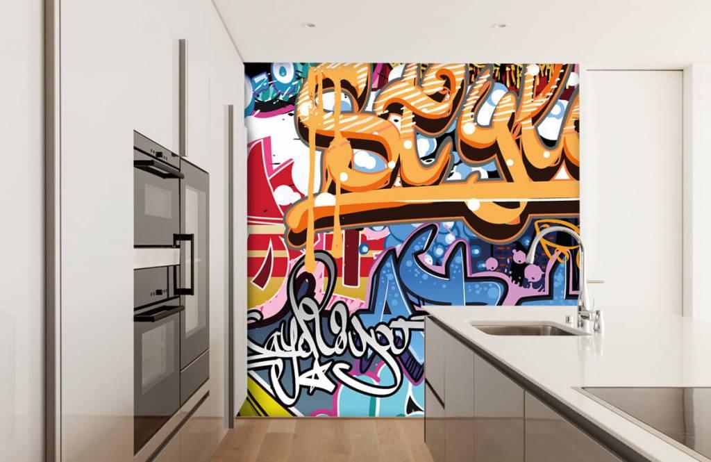Graffiti - Graffititekst - Tienerkamer 3