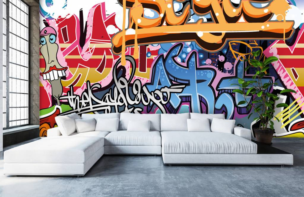 Graffiti - Graffititekst - Tienerkamer 5