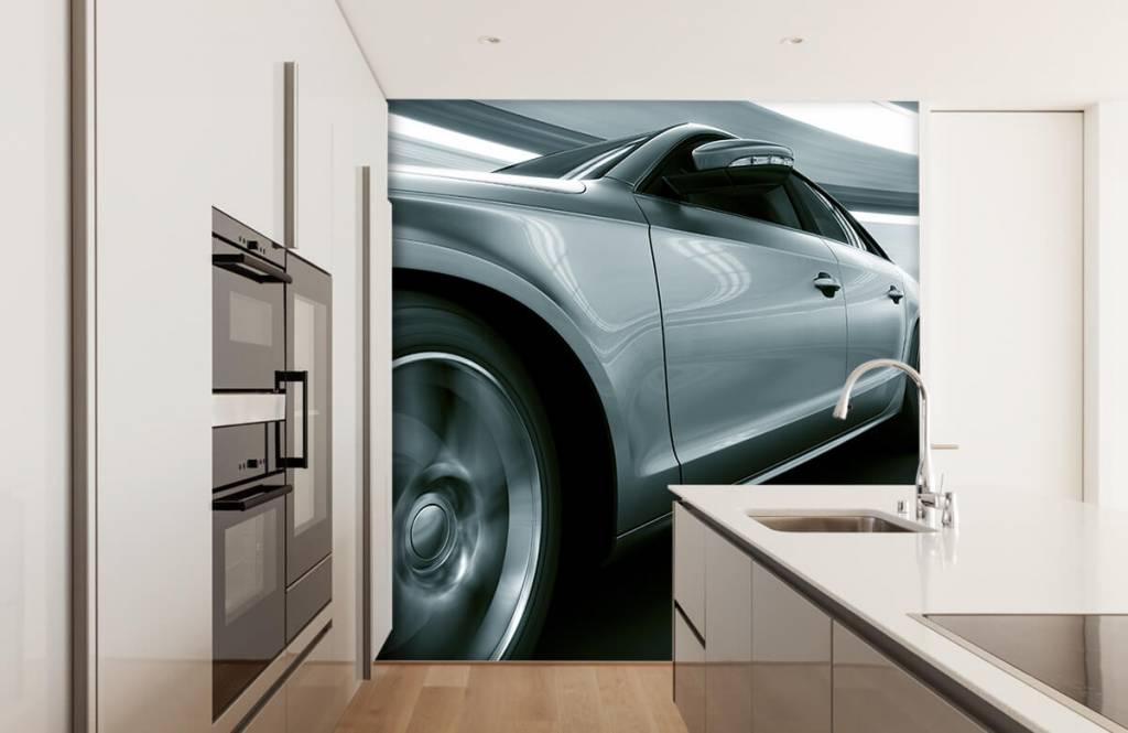 Transport - Grijze auto - Showroom 4
