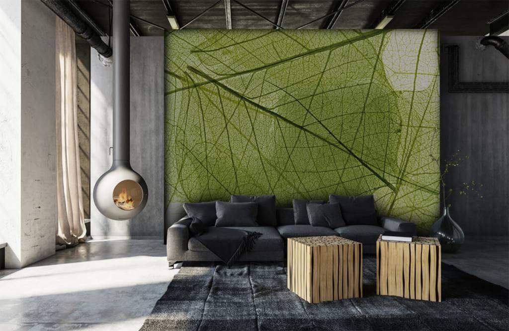 Bladeren - Groene bladeren - Slaapkamer 7