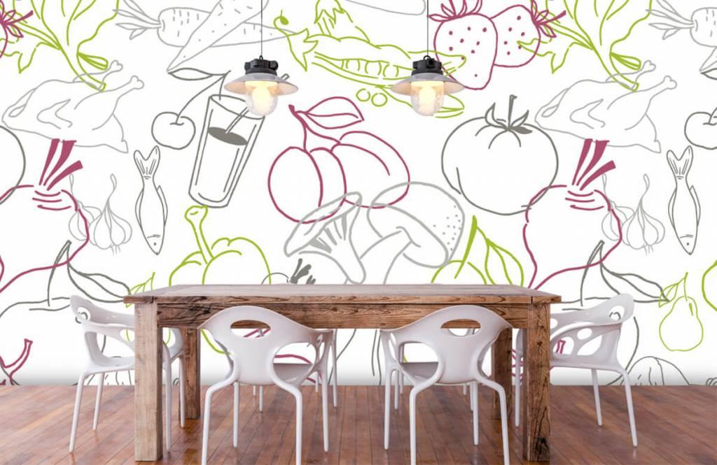 Overige - Groente en fruit iconen - Keuken 6