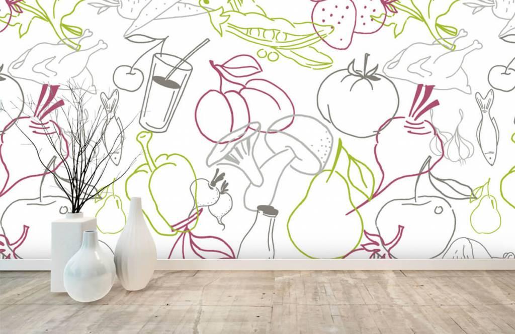 Overige - Groente en fruit iconen - Keuken 7