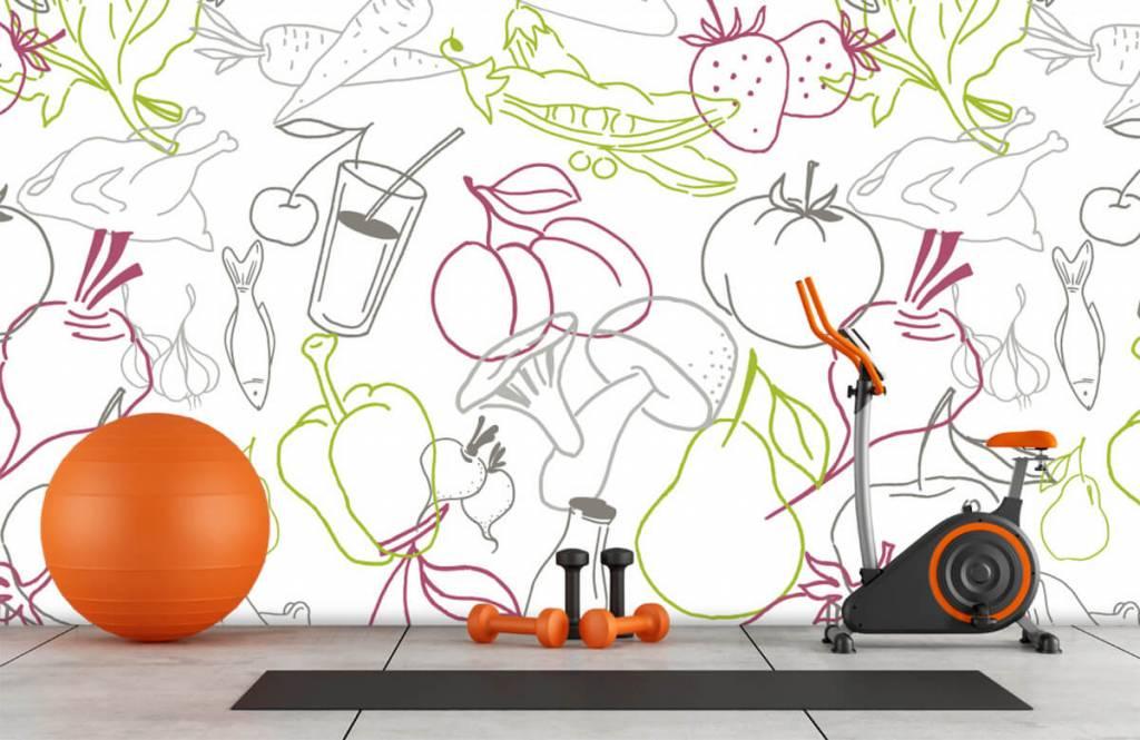Overige - Groente en fruit iconen - Keuken 8