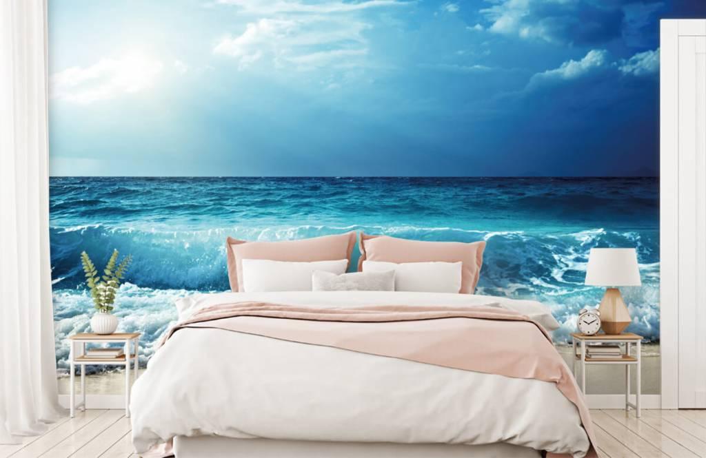 Zeeën en Oceanen - Grote golven - Slaapkamer 1