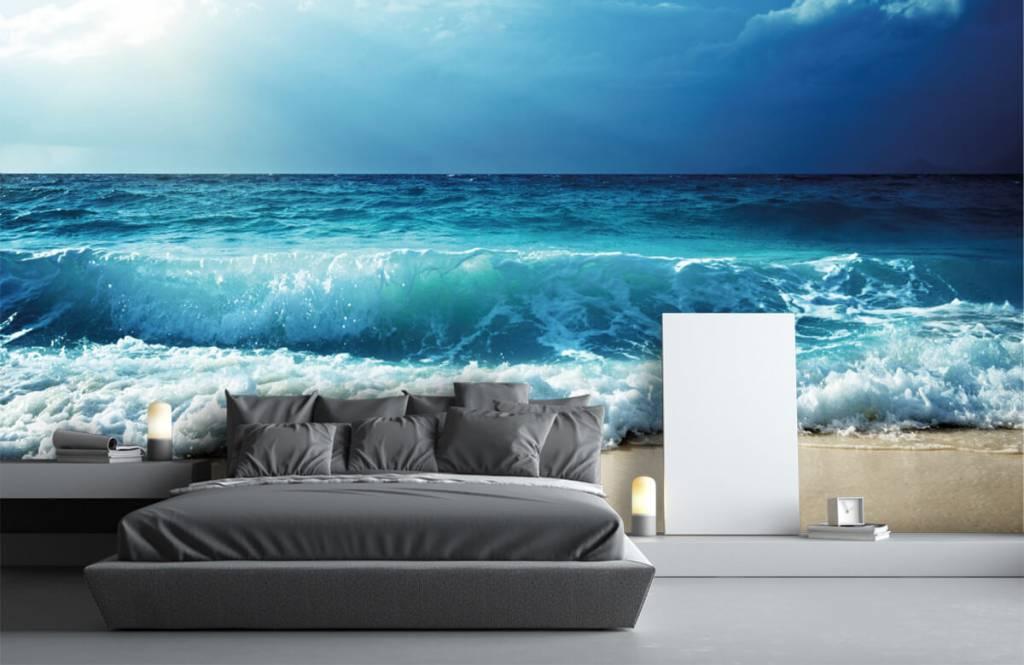 Zeeën en Oceanen - Grote golven - Slaapkamer 2