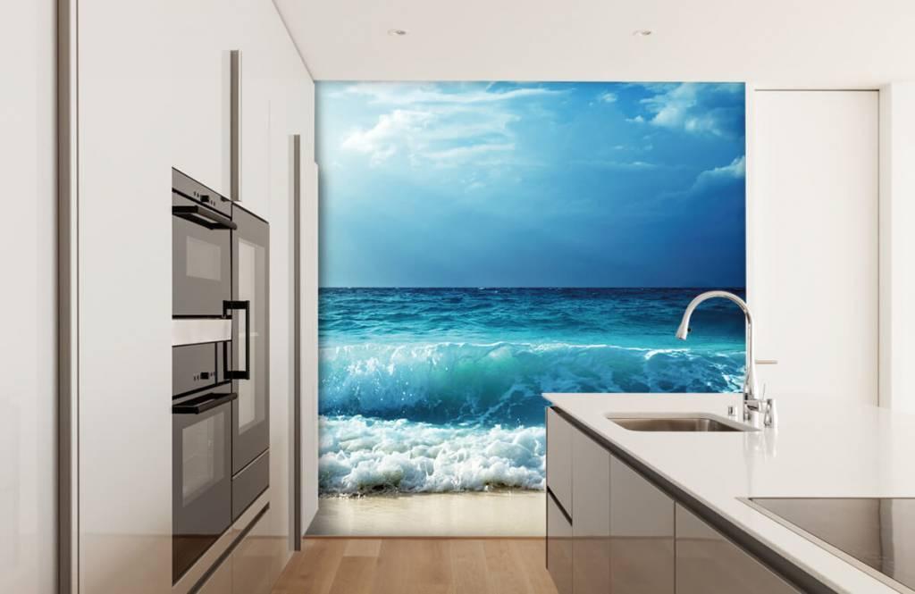 Zeeën en Oceanen - Grote golven - Slaapkamer 3