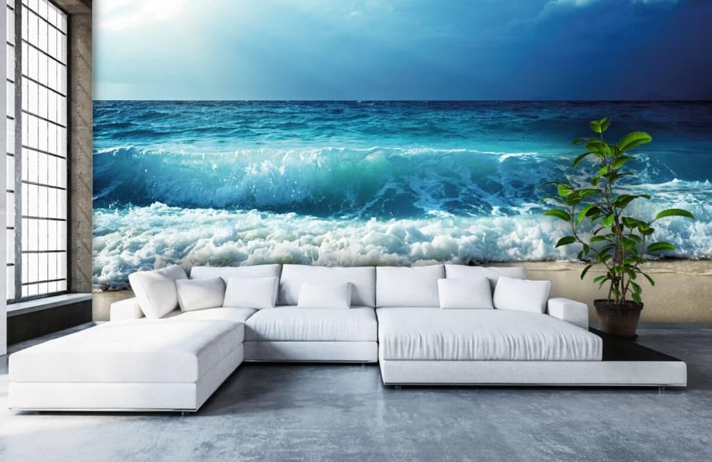 Zeeën en Oceanen - Grote golven - Slaapkamer 5