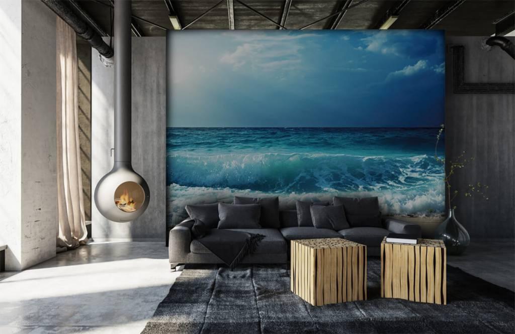 Zeeën en Oceanen - Grote golven - Slaapkamer 6