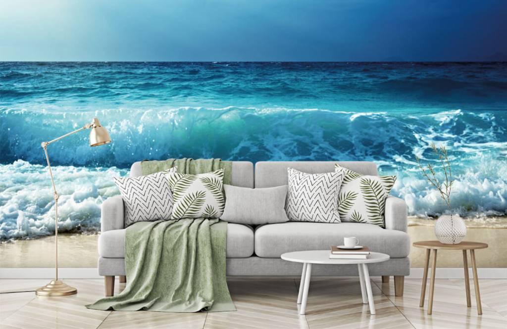 Zeeën en Oceanen - Grote golven - Slaapkamer 7