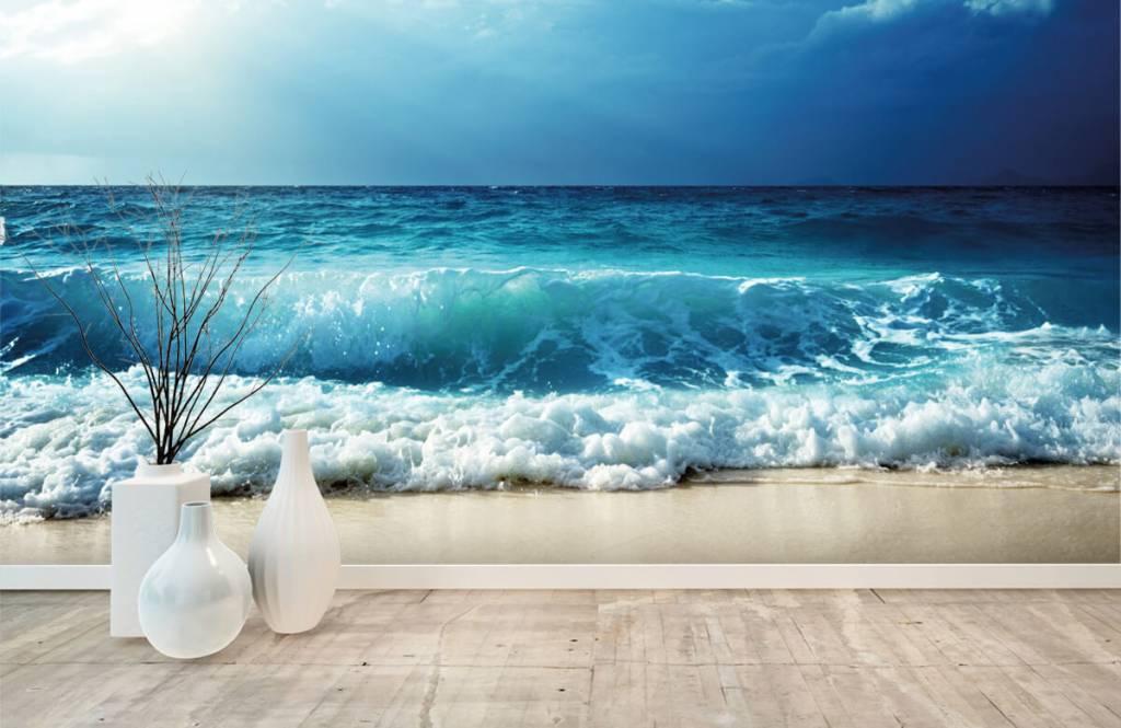 Zeeën en Oceanen - Grote golven - Slaapkamer 8