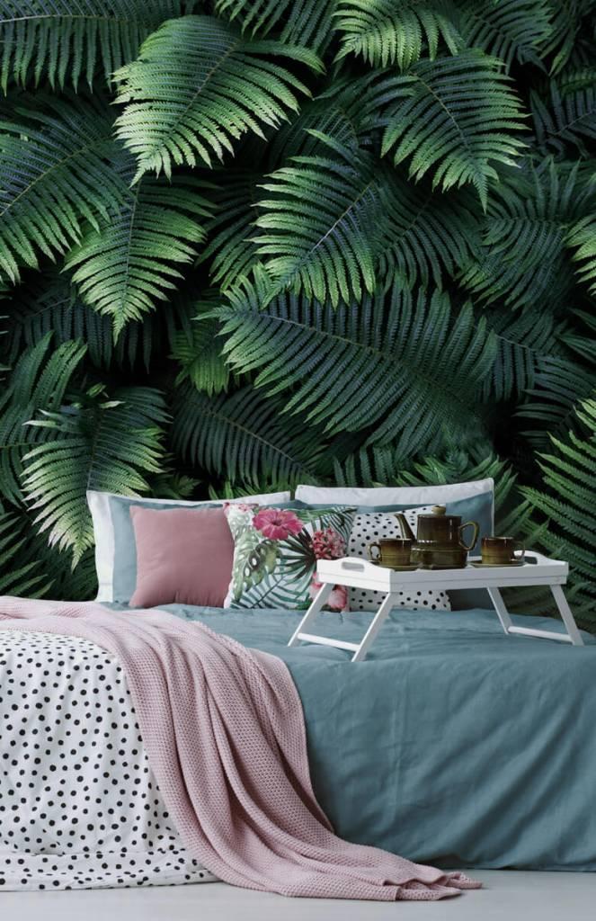 Bladeren - Grote palmbladeren - Woonkamer 4